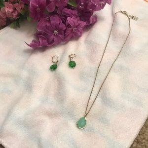Kendra Scott | necklace plus bonus earrings